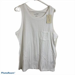 NWT Universal Thread Goods Co. White XL Tank Top